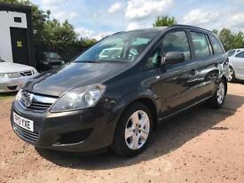 2013 Vauxhall Zafira 1.7CDTi 16v ecoFLEX-SERV HIST-2KEYS-7SEATER-LEATHER