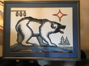First Nations Artwork -- by White Buffalo