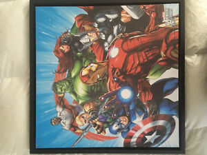 Marvel Avengers Assemble art