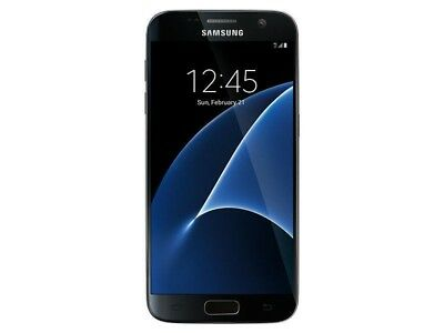 Samsung Galaxy S7 SM-G930T 32GB Black Onyx T-Mobile 4G LTE Android Smartphone B