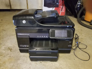 HP OfficeJet 8500A Printer & Spare Extra Large Black Cartridge