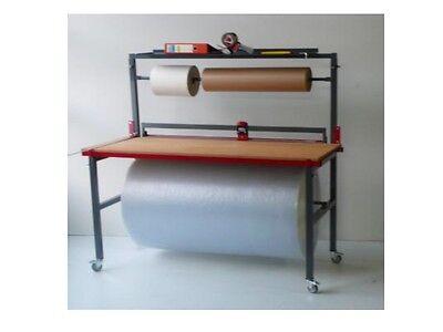 Packtisch Schneideständer Arbeitstisch  Abrollhalter Schneidständer 1250mm