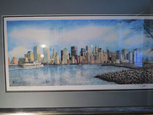 MEMORY of the TWIN TOWERS & NYC SKYLINE, by NICHOLAS SANTOLERI Kitchener / Waterloo Kitchener Area image 3