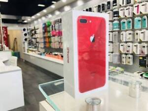 As New iphone 8 plus 256gb red unlocked 2yrs apple warranty
