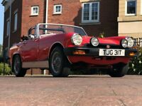 MG Midget 1500 (red) 1978