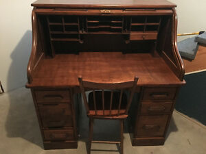 Bureau antique ( Roll top desk )