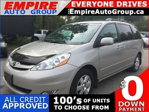 2009 TOYOTA SIENNA LE * LEATHER * 7 PASS * POWER GROUP * LOW KM
