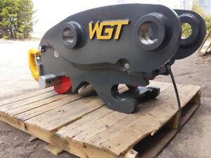 WGT - Excavator Coupler/Quick Hitch, Canadian Steel
