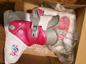 Girls ski boots 19.5 in excellent condition