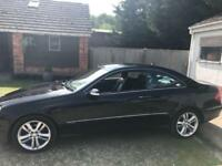 2008 Mercedes-Benz CLK 220 2.2 CDI Black Auto Avantgarde SAT NAV LEATHER NEW MOT