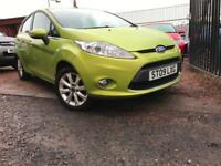 *3 MTHS WARRANTY*2009(09)FORD FIESTA 1.2 5DR ZETEC WITH 74K *
