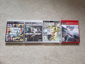 Pack of 4 Games for ps3
