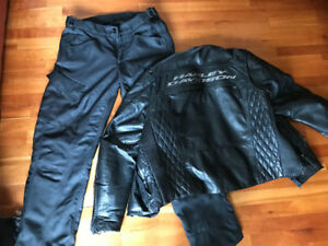 Harley Davidson leather jackets and riding apparel