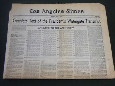 1974 May 5 Los Angeles Times   President Watergate Trascript Complete   Np 2414