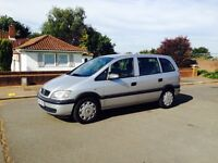 ZAFIRA 2005-1.6 EXCELLENT CONDITION-1 OWNER-1 YEAR MOT-FULL SERVICE-2 KEYS-RUNS LIKE NEW-CLEAN CAR
