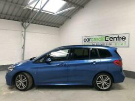 *BUY NOW FROM £86 P/WEEK* BLUE BMW 2 SERIES 2.0 220I M SPORT GRAN TOURER AUTO
