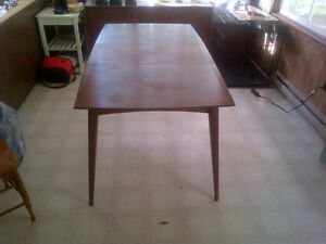 Teak Dinning Table, Chairs, Buffets, End Tables, etc. Kawartha Lakes Peterborough Area image 1