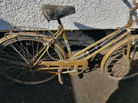 Vintage bike Puch touring