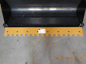 SERRATED BLADE FOR FRONT END LOADER