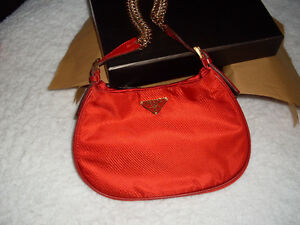 PRADA Tessuto Evening Bag