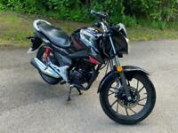Honda GLR 125 2021 Blue 125cc Manual Motorbike CB PGM-FI