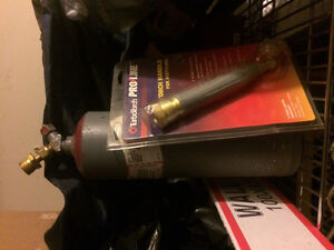 Turbo torch and bottles