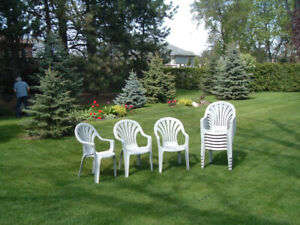 BBQ season extra seating for guests