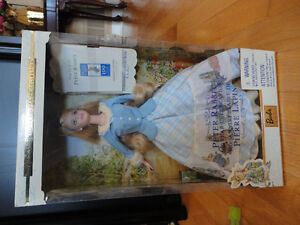 Brand new in box collectible Peter Rabbit Barbie doll London Ontario image 4