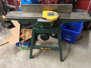 "Craftex CT086 jointer 6"" 3-blades good condition sharp"