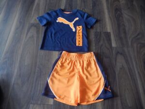 Boys *Never Worn* Size 2 Puma Outfit