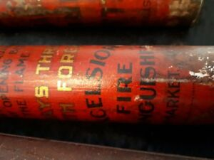 excelsior fire extinguisher newmarket tubes very old