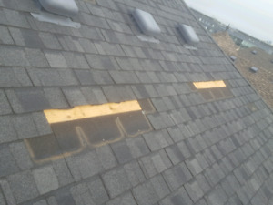 Quality roofing services in GTA, missing shingles, leaks, vents