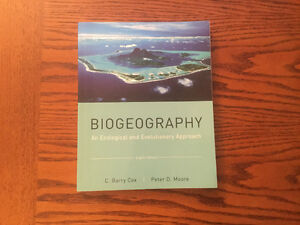 Biogeography: An Ecological and Evolutionary Approach Kitchener / Waterloo Kitchener Area image 1