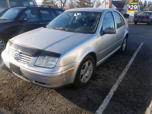 2000 vw jetta silver mk4 manual
