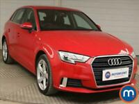 2017 Audi A3 2.0 TDI Sport 5dr S Tronic Auto Hatchback Diesel Automatic