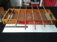 1950s CARROM KIKIT TK-7 WOODEN SOCCER Foosball TABLETOP Game Longueuil / South Shore Greater Montréal Preview
