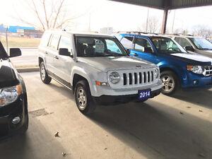 2014 Jeep Patriot Sport SUV,  balance of factory warranty