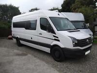 2014, VW CRAFTER RACE VAN, LARGE GARAGE, FULL KITCHEN, TOILET, LOW MILEAGE