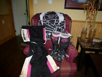 Womans Motocross gear
