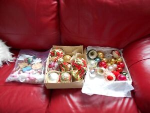 VINTAGE CHRISTMAS ORNAMENTS NEW PRICE