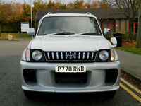 1996 P Reg Toyota Land Cruiser Prado 3.0 TD SWB Manual In White/Grey