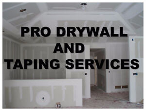PRO DRYWALL AND TAPING SERVICES