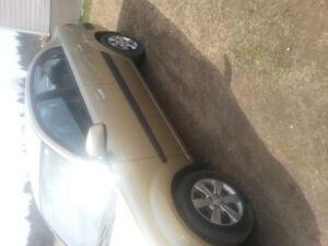 2009 Gold Kia Rio for sale