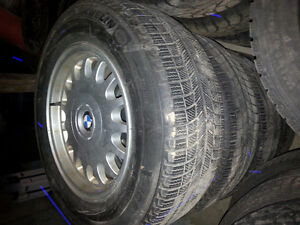 BMW RIMS & MICHELIN TIRES LIKE NEW!! 235/60/16