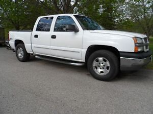 2005 Chevrolet 4dr, Crew Cab, 4X4, Pickup Truck, Runs Great