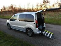 2013 63 Peugeot Partner Tepee 1.6 Hdi WHEELCHAIR DISABLED ADAPTED ACCESSIBLE WAV