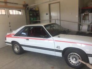 1984 mustang Gt  original owner . Cars like new