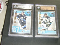 Complete Hockey Set Heroes And Prospects with 2 Graded Crosbys