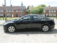 2008 Mazda Mazda6 2.0 ( 147ps ) TS2 4DR 08 REG Petrol Black