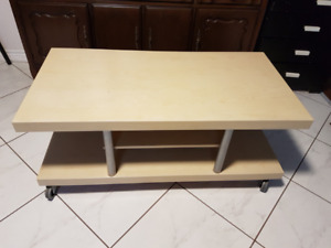 Price Reduced: Ikea 'TIMRA' TV Bench with wheels